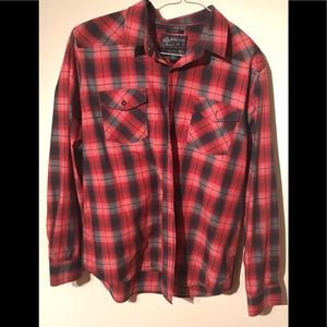 XL American Rag Plaid Country Button Down